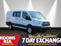 2016 Ford Transit-250 White **NEW CAR TRADE**, * BUY
