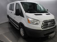 Recent Arrival! 2016 Ford Transit-250 White Clean