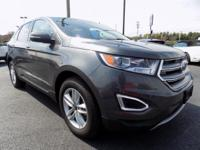 FORD EDGE SEL ALL WHEEL DRIVE SUV. Bates Ford is happy