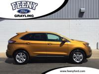 Certified. Electric Spice Metallic 2016 Ford Edge SEL