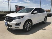 Come see this 2016 Ford Edge Sport. Its Automatic