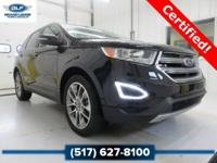 2016 Ford Edge Titanium in Shadow Black Vehicle