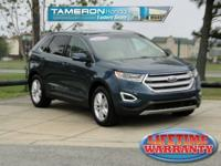 Too Good To Be Blue Metallic 2016 Ford Edge SEL FWD