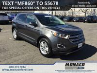 CARFAX One-Owner. Clean CARFAX. 2016 Ford Edge SEL AWD