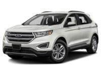 AWD. White 2016 Ford Edge SEL 4D Sport Utility AWD
