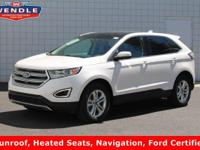 *FORD CERTIFIED*, *NAVIGATION GPS NAV*, *CLEAN CAR