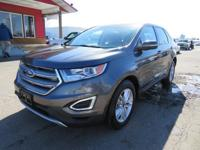Options:  2016 Ford Edge Navigation! Panoramic Roof!