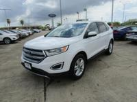 Options:  2016 Ford Edge Sel|Oxford White|Ebony