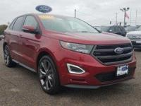 Form meets function with the 2016 Ford Edge. This