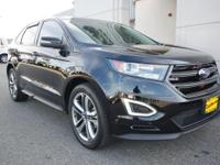 2016 FORD EDGE SPORT 4X4 AMAZING CONDITION ONE OWNER