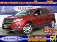 **** JUST IN FOLKS! THIS 2016 FORD EDGE TITANIUM HAS