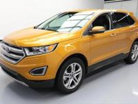 This awesome 2016 Ford Edge 4x4 comes loaded with the
