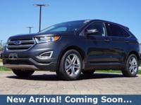 2016 Ford Edge Titanium in Magnetic Metallic, This Edge