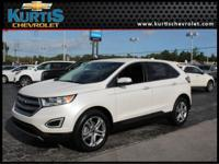TITANIUM PACKAGE! This 2016 Ford Edge has a comfortable