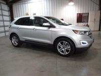 New Price! 2016 Ford Edge Titanium Silver 2016 Ford