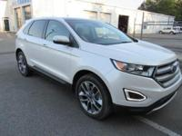 Introducing the 2016 Ford Edge! It delivers style and