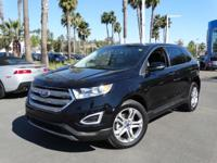 Options:  2016 Ford Edge Titanium|Black|Don't Bother
