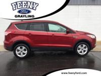 Ruby Red Metallic 2016 Ford Escape SE 4WD 6-Speed