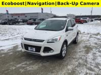 This Ford Escape has a dependable Intercooled Turbo