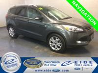 2016 Ford Escape Titanium Highlighted with Navigation,