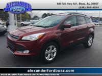 2016 Ford Escape SE FWD. Cloth Seats, Front Bucket