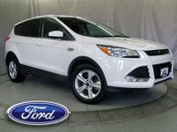 Recent Arrival! 2016 Ford Escape SE White CARFAX