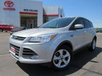 This 2016 Ford Escape comes equipped with back-up