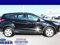 Shadow Black 2016 Ford Escape With Weber recently