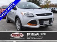 Don't miss this great Ford! This 2016 Ford Escape S has