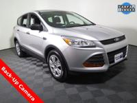 2016 Ford Escape S with a Duratec 2.5L Engine. Cloth