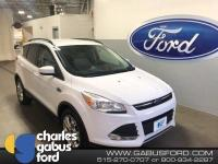 Certified. 2016 Ford Escape SE Oxford White ONE OWNER