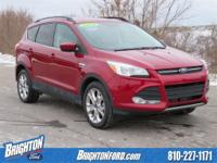 4WD. CARFAX One-Owner. Clean CARFAX. Ruby Red Metallic