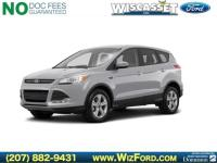 Clean CARFAX. Silver 2016 Ford Escape SE 4WD 6-Speed
