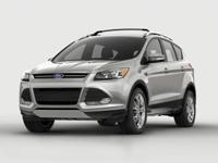 2016 Ford Escape and 2 Years of Maintenance Included.