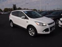 2016 Ford Escape SE Oxford White Certified by Carfax -