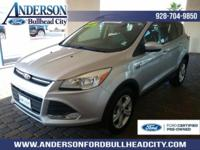 New Price! Certified. Ingot Silver 2016 Ford Escape SE