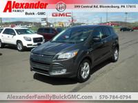 Gray 2016 Ford Escape SE FWD 6-Speed Automatic Duratec