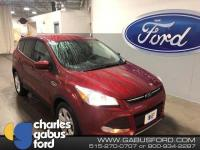 Recent Arrival! Certified. 2016 Ford Escape SE Ruby Red