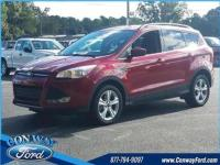 22/30 City/Highway MPG Red 2016 Ford Escape SE FWD
