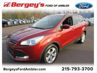 Certified. Sunset 2016 Ford Escape SE FWD 6-Speed