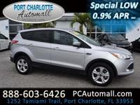 Brought to you in Ingot Silver, our 2016 Ford Escape SE