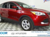 Ford Escape SE CARFAX One-Owner. 4D Sport Utility.