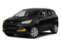 2016 Ford Escape Shadow Black  New Price! CARFAX