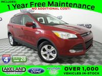 FORD CERTIFIED*7 YEAR/100K WARRANTY and NO ACCIDENT