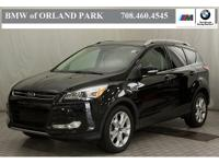 New Price! 2016 Ford Escape Titanium Black EcoBoost