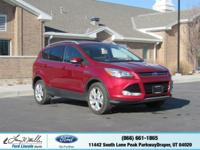 Scores 28 Highway MPG and 21 City MPG! This Ford Escape