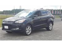 22/29 City/Highway MPG Black Clearcoat 2016 Ford Escape