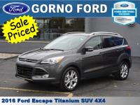 2016 FORD ESCAPE 4-WHEEL DRIVE TITANIUM. 2.0L ECOBOOST