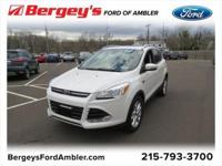 Certified. Shadow Black 2016 Ford Escape Titanium 4WD