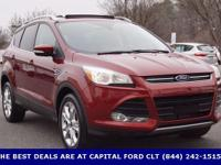 2016 Ford Escape. 4WD. Lickety-split! Lay your burdens